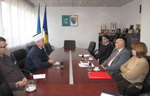 Muftija tuzlanski posjetio Vladu Tuzlanskog kantona
