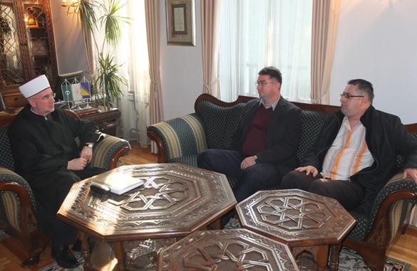 Muftija primio fra Marija Divkovića