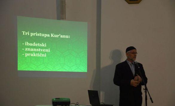 Na tribini u KC Slatina-Tušanj o doživljaju Kur'ana