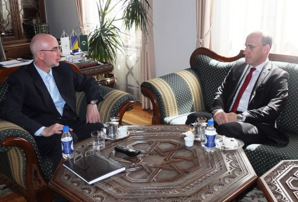 Muftija Fazlović i potpredsjednik Ramiz Salkić o povratnicima