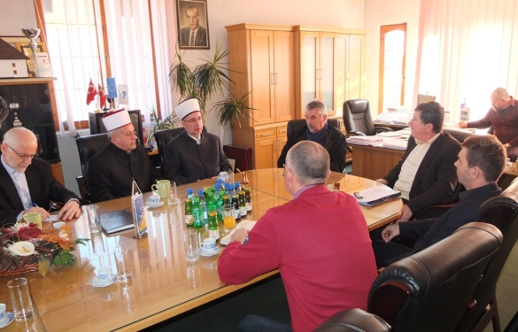 Muftija Fazlović u Kalesiji
