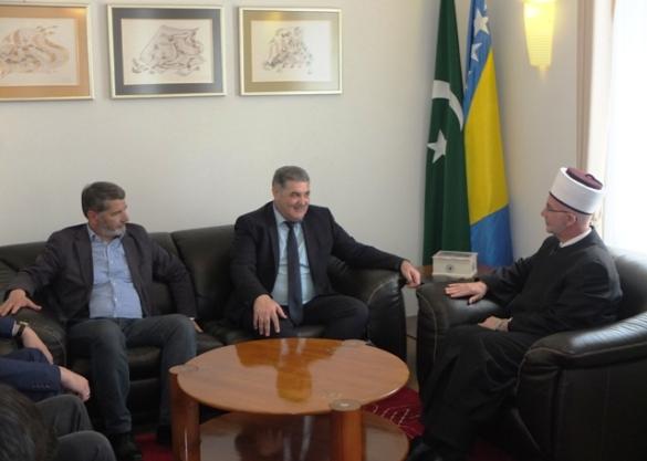 Gradonačelnici Splita i Tuzle posjetili muftiju tuzlanskog