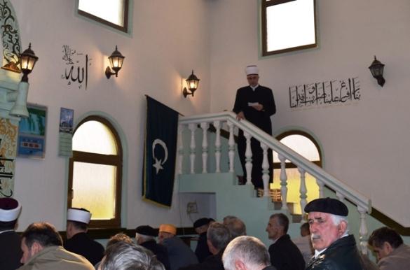 Muftija održao hutbu u Podorašju