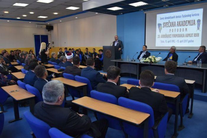 Obilježena 25. godišnjica formiranja Armije Republike Bosne i Hercegovine