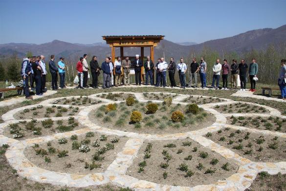 Zasađene 504 sadnice u Memorijalnoj šumi u Goraždu