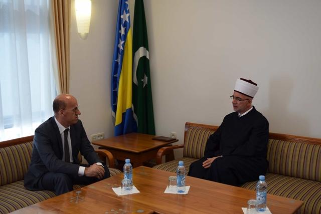 Muftija Fazlović i potpredsjednik Salkić razgovarali o stanju Bošnjaka u RS