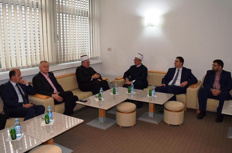 Delegacija Mešihata IZ u Hrvatskoj posjetila Muftijstvo tuzlansko