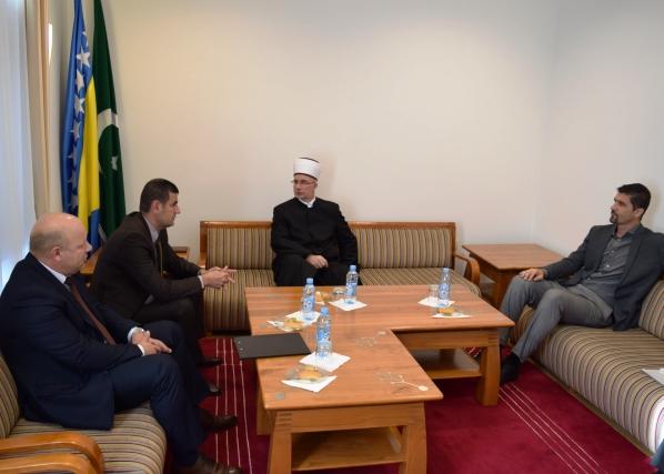 Rukovodstvo Opštine Srebrenica kod muftije tuzlanskog