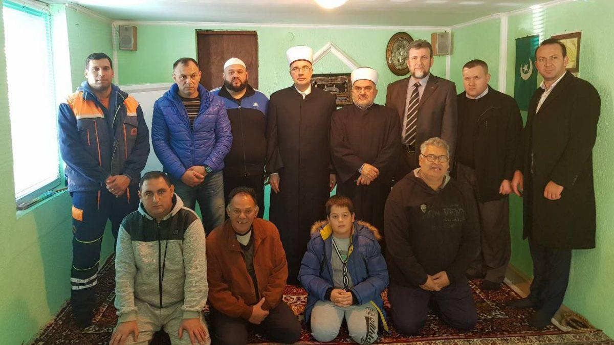 Muftije Dudić i Fazlović u Loznici: Poboljšat ćemo uslove u ovom medžlisu
