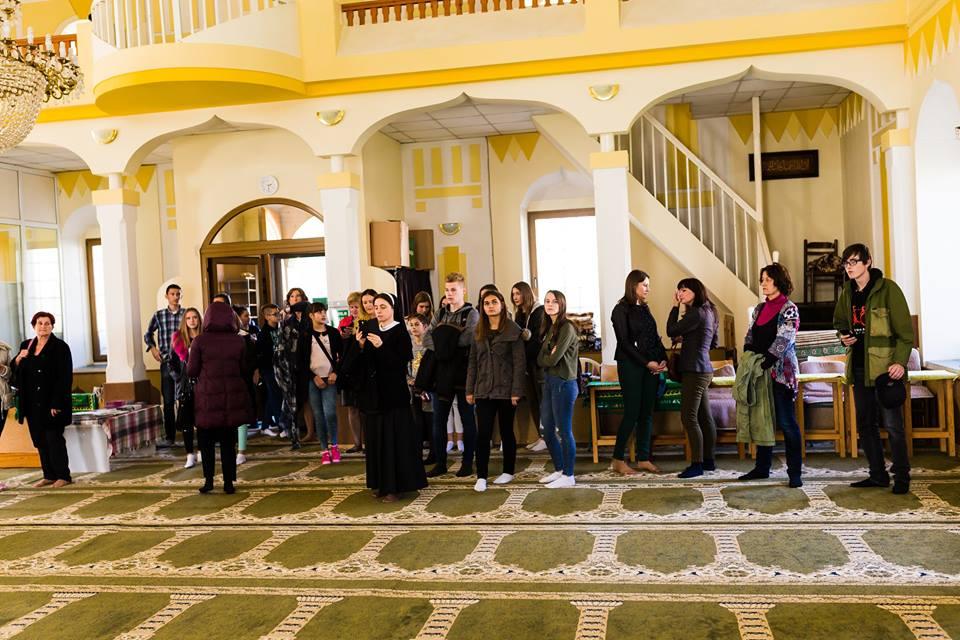 Posjeta džamiji učenika iz BiH odtak
