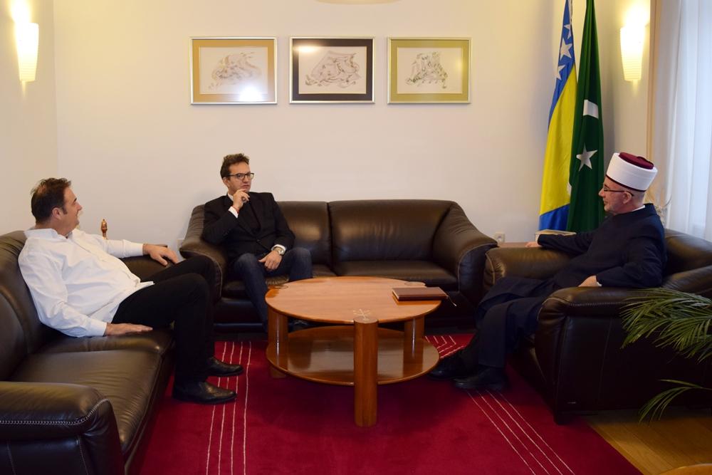 Direktor UKC-a Tuzla i načelnik Klinike za hirurgiju posjetili muftiju tuzlanskog