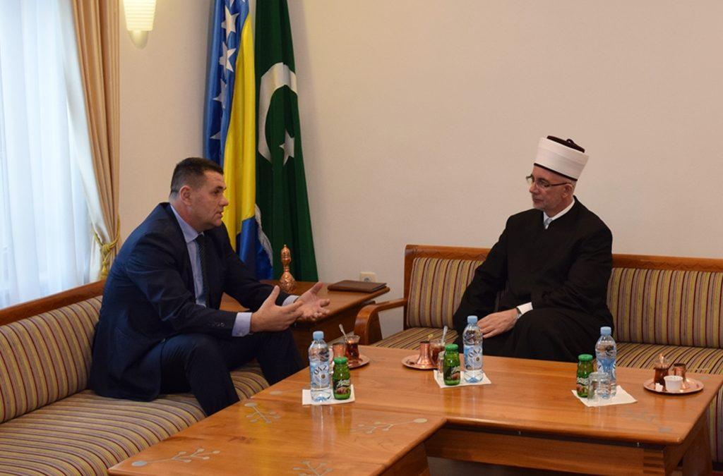 O dosadašnjoj i budućoj saradnji razgovarali Muftija tuzlanski i premijer Tuzlanskog kantona