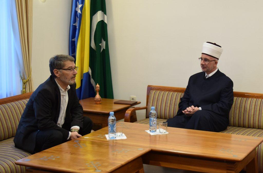 Muftija Fazlović i gradonačenik Imamović razgovarali o dosadašnjoj i budućoj saradnji