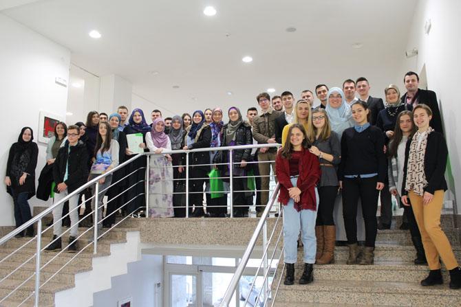 Učenici tuzlanskihi srednjih škola razgovarali o Muhammed a.s.