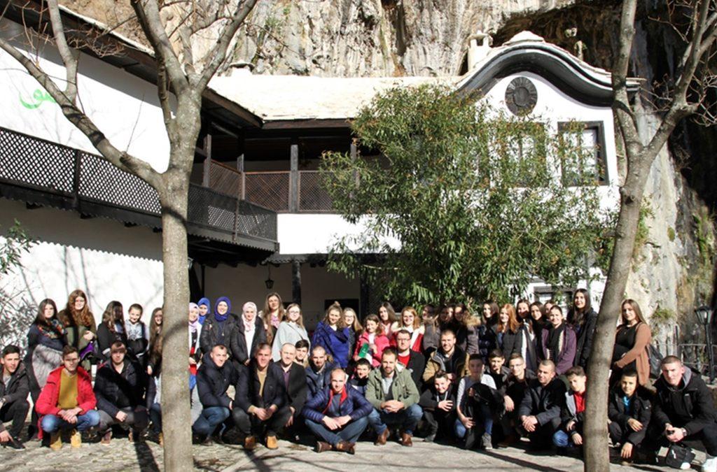 Polaznici halke hadisa u Kladnju posjetili Mostar