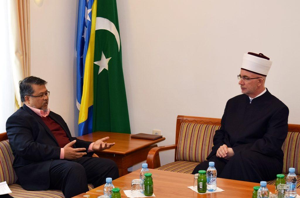 Muftija tuzlanski primio ambasadora Malezije