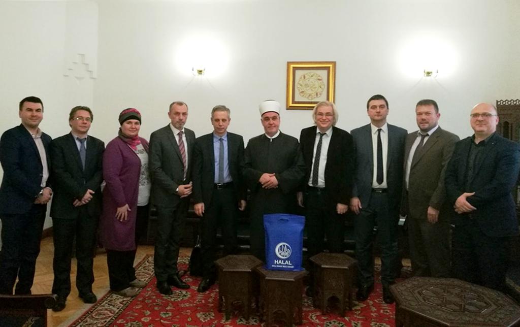 Reisu-l-ulema primio upravu i uposlenike Agencije za certificiranje halal kvalitete