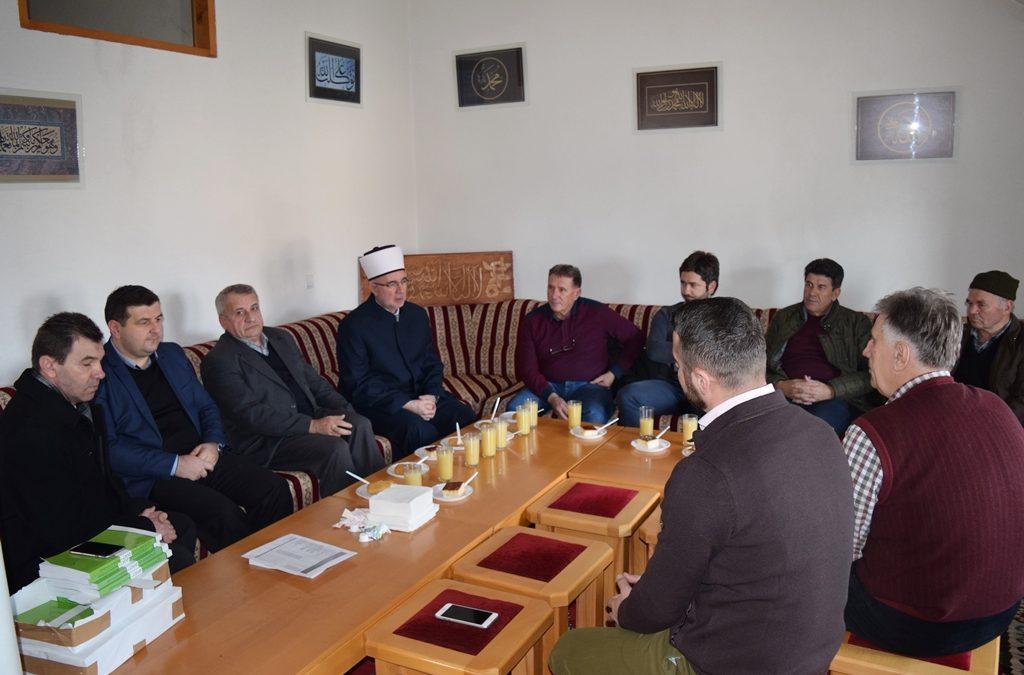 Posjeta Muftije tuzlanskog Medžlisu IZ-e Kalesija