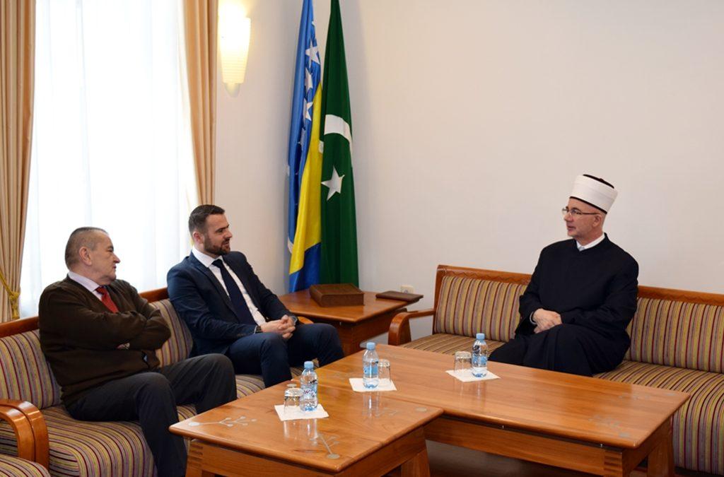 Muftija tuzlanski primio rukovodstvo Memorijalnog centra Srebrenica-Potočari