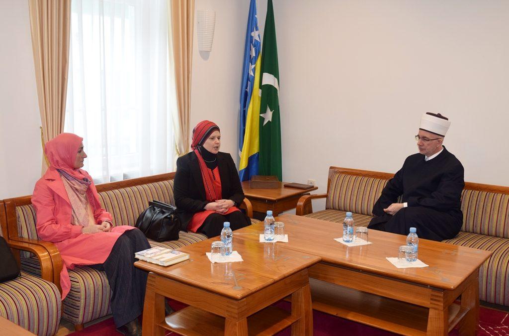 Muftija primio predstavnice odjela za brak i porodicu