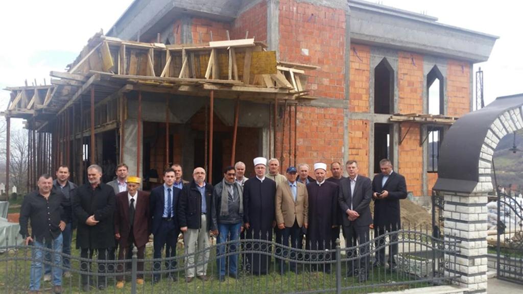 Napreduju radovi na izgradnji džamije u džematu Brdo (MIZ Čelić)