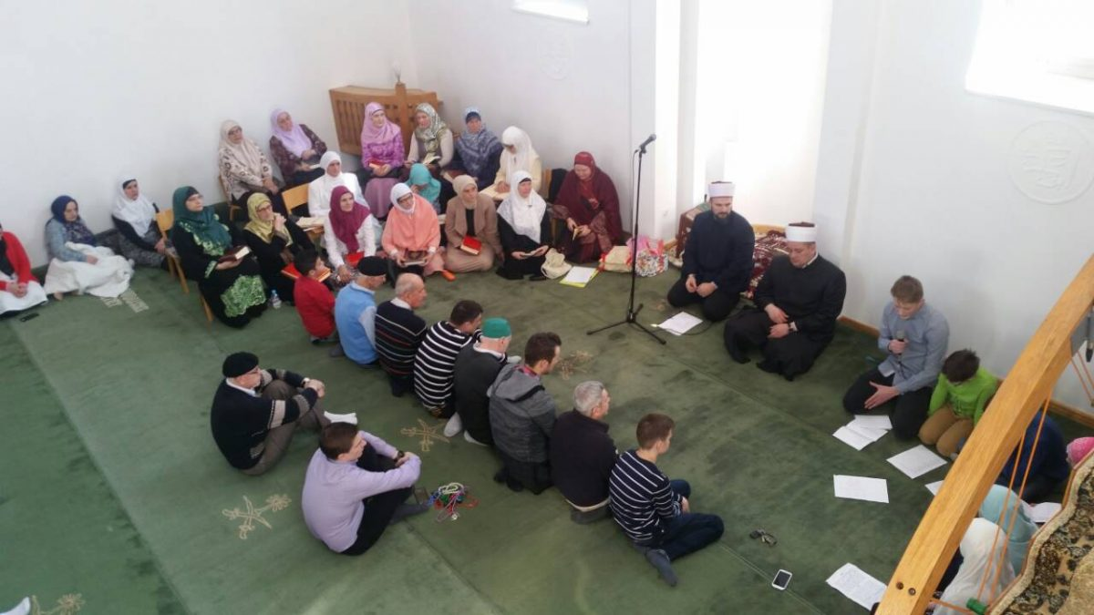 Hatma dova u Hadžijskoj džamiji u Tuzli