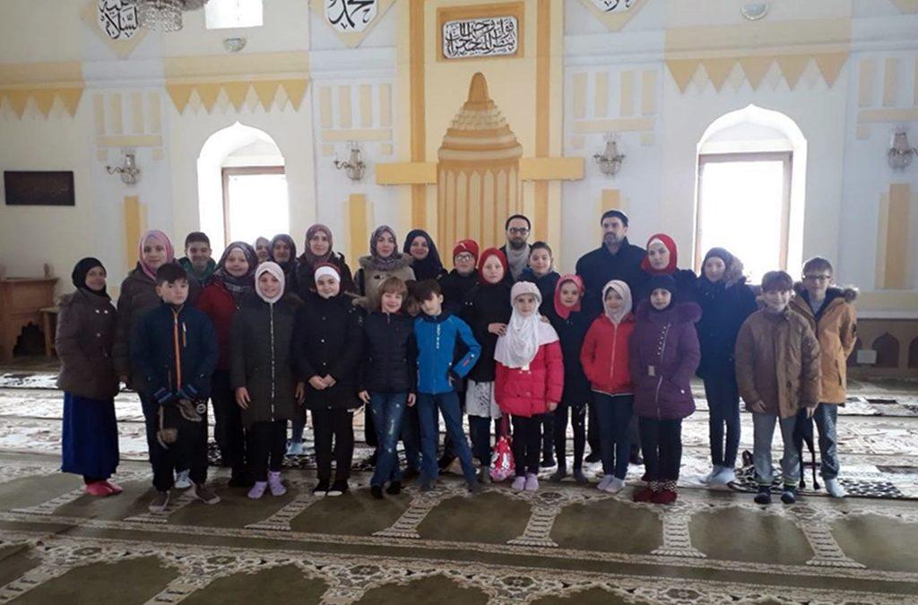 Mekteblije iz Jelovče Sela posjetili Orašje