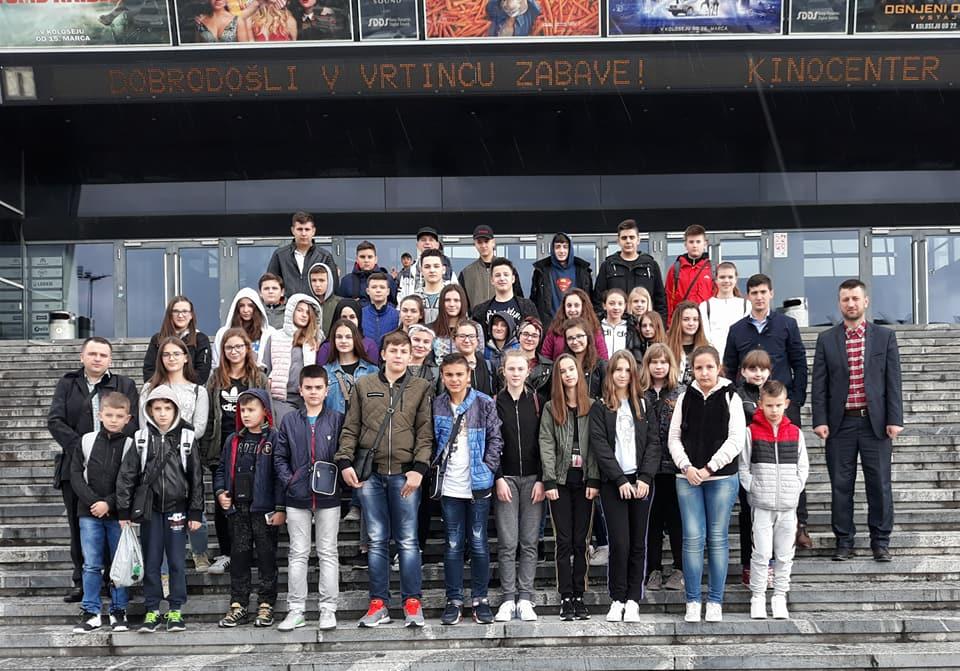Mekteblije iz Srebrenika na ekskurziji u Ljubljani