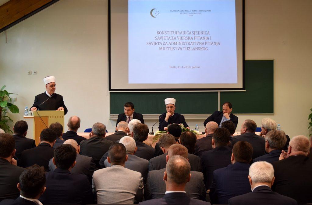 Održana konstituirajuća sjednica savjeta Muftijstva tuzlanskog