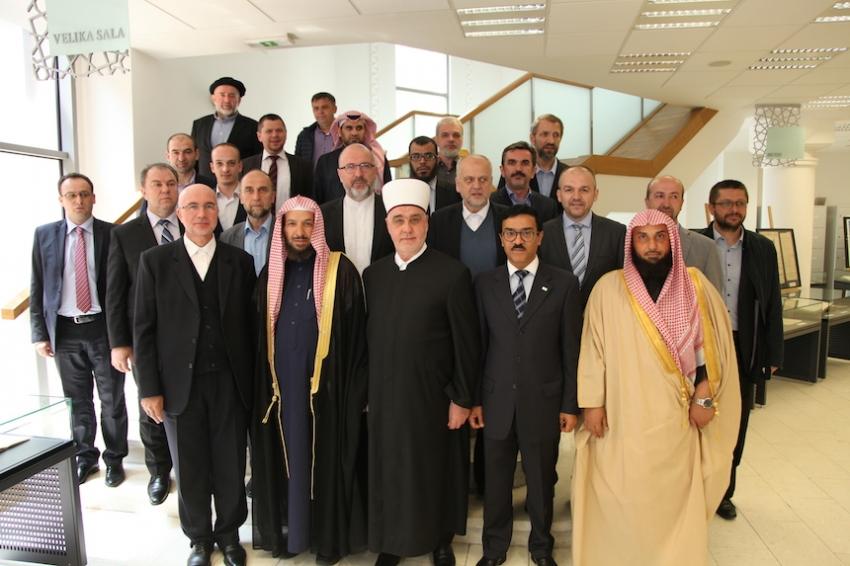 Sastanak šejha Sa'da eš-Šisrija s dekanima i muftijama