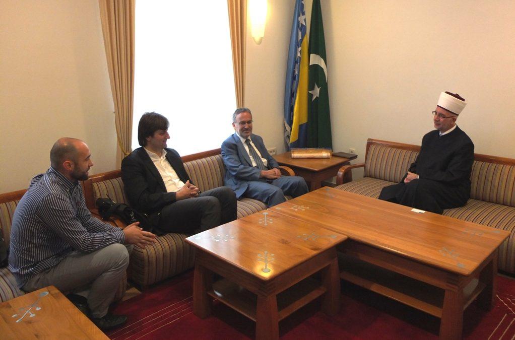 Muftija Vahid-ef. Fazlović primio savjetnika istanbulskog gradonačelnika Ismaila Hakki Turunça
