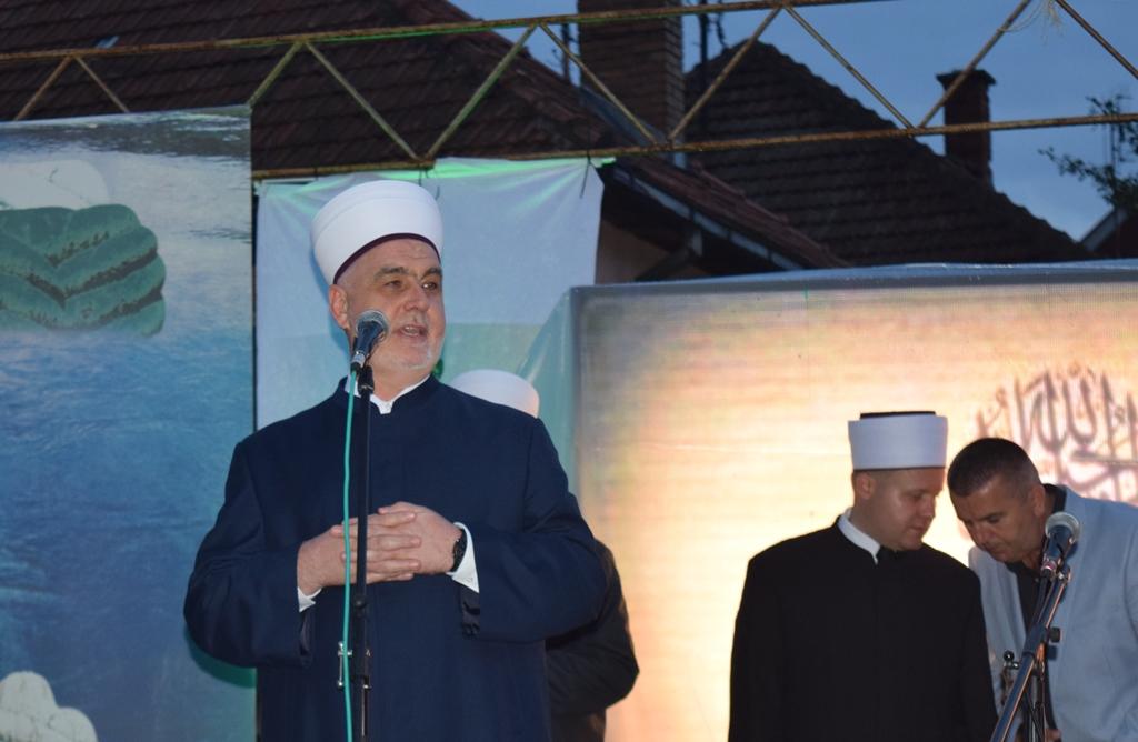 Obraćanje Reisu-l-uleme na iftaru u Diviču