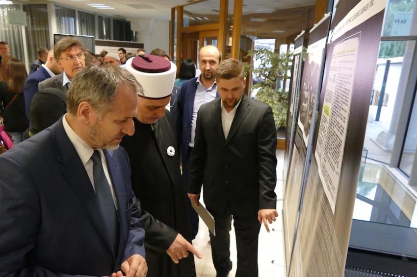 """Otvorena izložba """"Genocid u Srebrenici: Jedanaest lekcija za budućnost"""""""