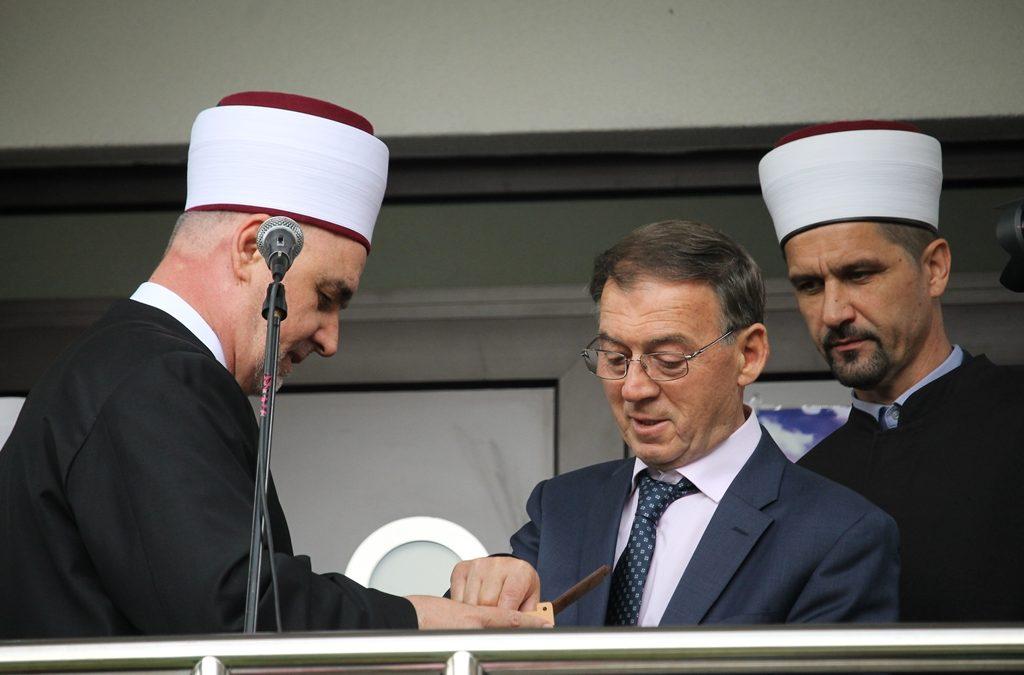 Otvorena Šehidska džamija u Srebrenici
