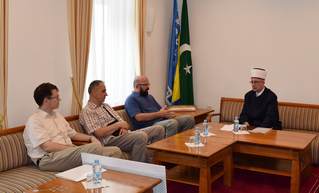 Muftija primio predstavnike Zavoda za zaštitu i korištenje kulturno-historijskog i prirodnog naslijeđa TK