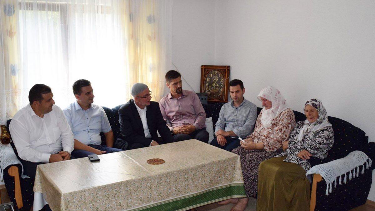 Muftija Fazlović prvi dan Kurbanskog bajrama proveo u medžlisima i džematima Podrinja
