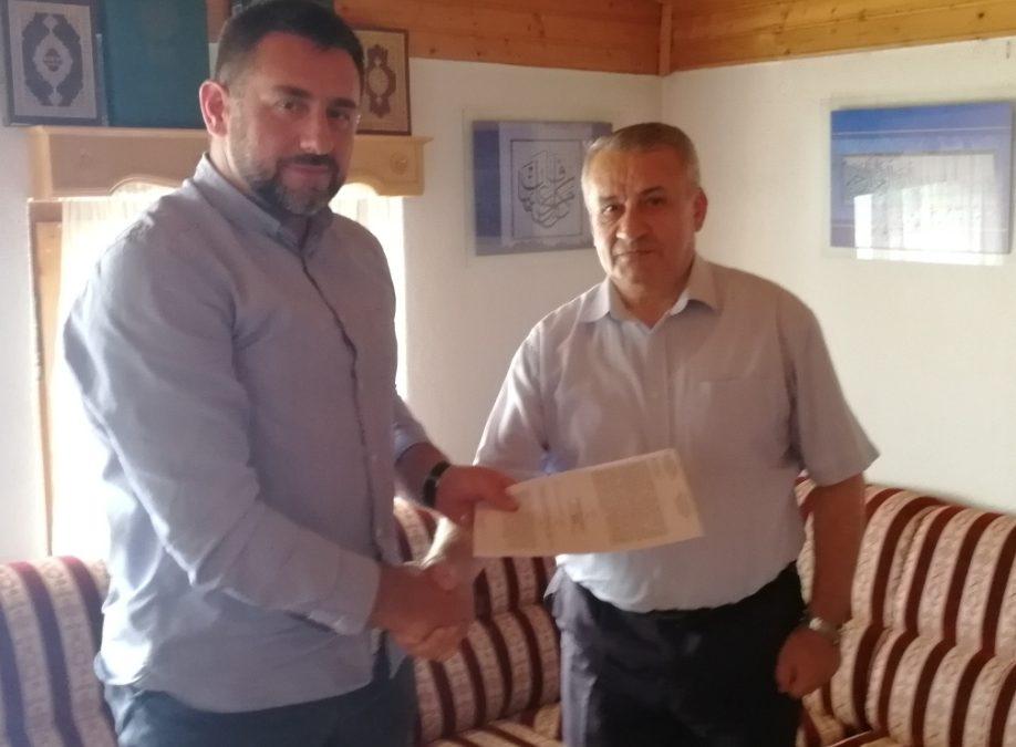 Kalesija: Podrška infrastrukturnim projektima u džematima Šeher i Sarači