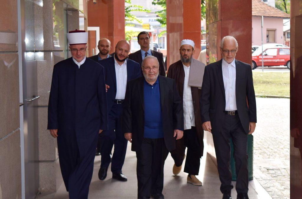 Dr. Muhammed Ratib En-Nabulsi posjetio Muftijstvo tuzlansko