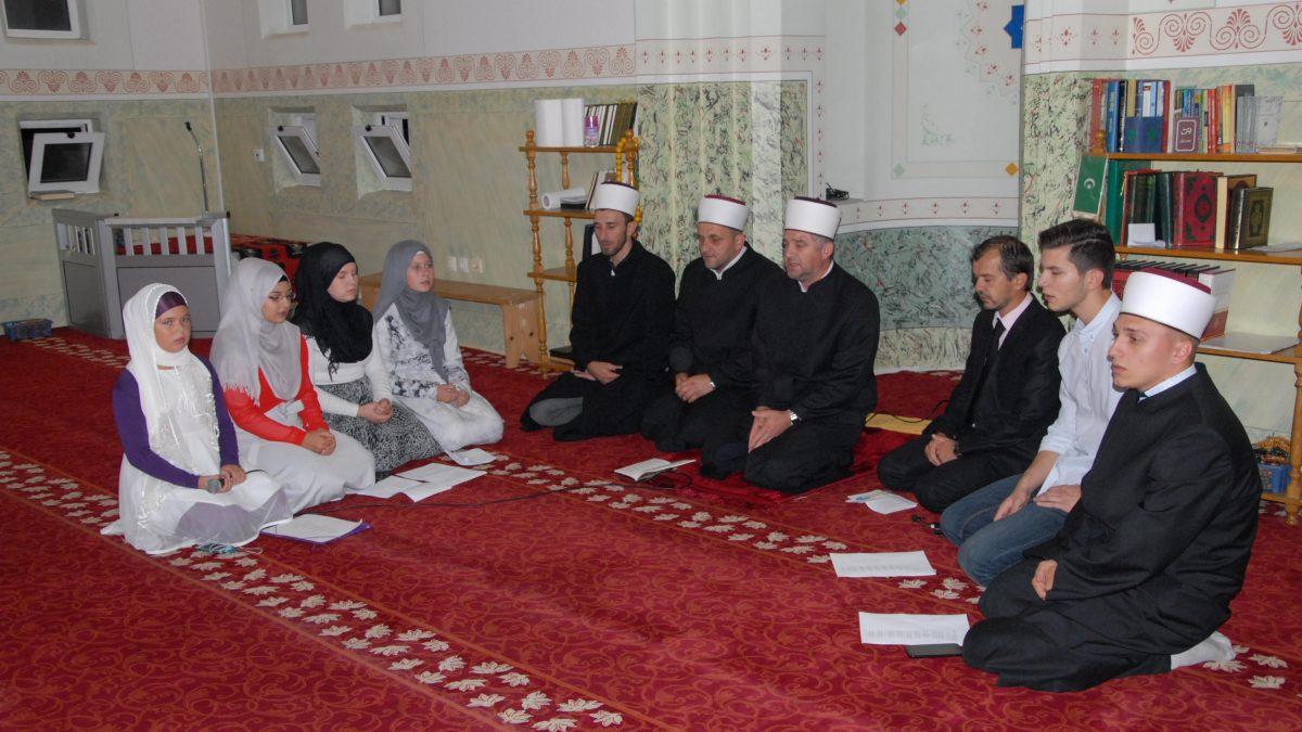 Mevlud hafiza Sejjida Zenunovića na svečanosti u Janji
