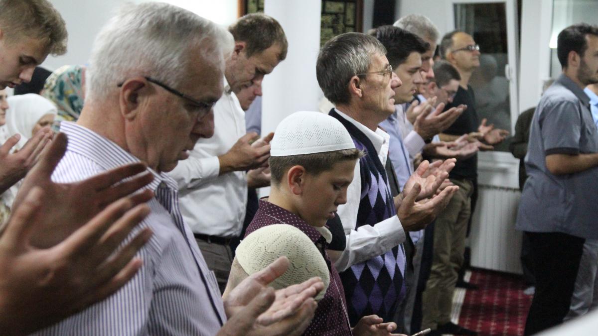 Svečanost u tuzlanskom džematu Tušanj