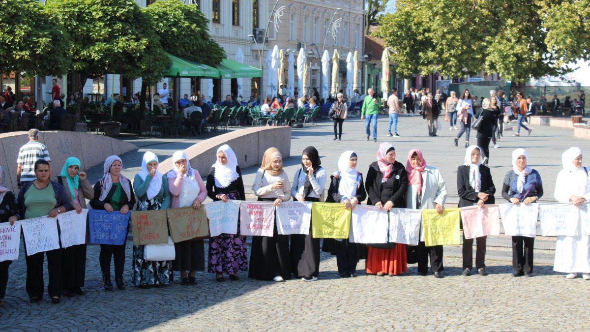 I ovog jedanaestog uz žene Srebrenice