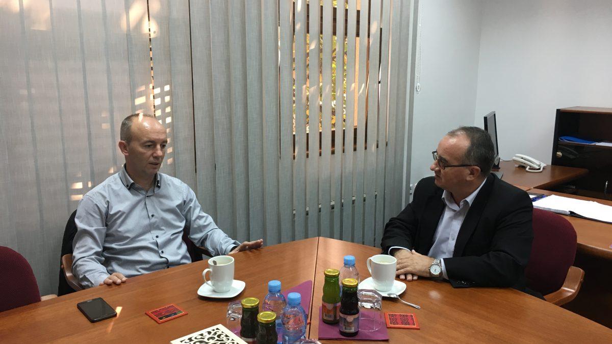 Institut za društvena i religijska istraživanja posjetio direktor Zavoda za zaštitu kulturno-historijskog i prirodnog naslijeđa TK
