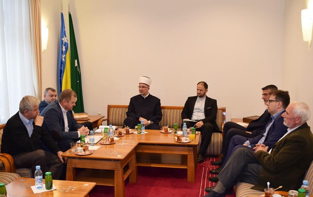 Muftija tuzlanski razgovarao s predstavnicima Bošnjaka Bijeljine i Janje