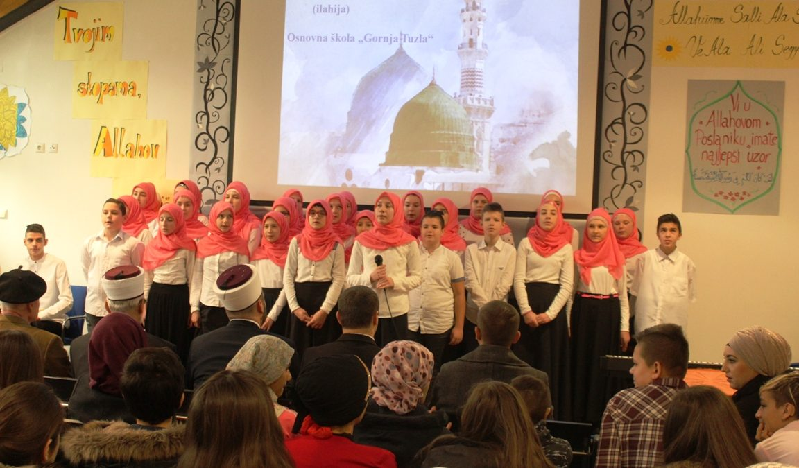 Mevludski program tuzlanskih učenika
