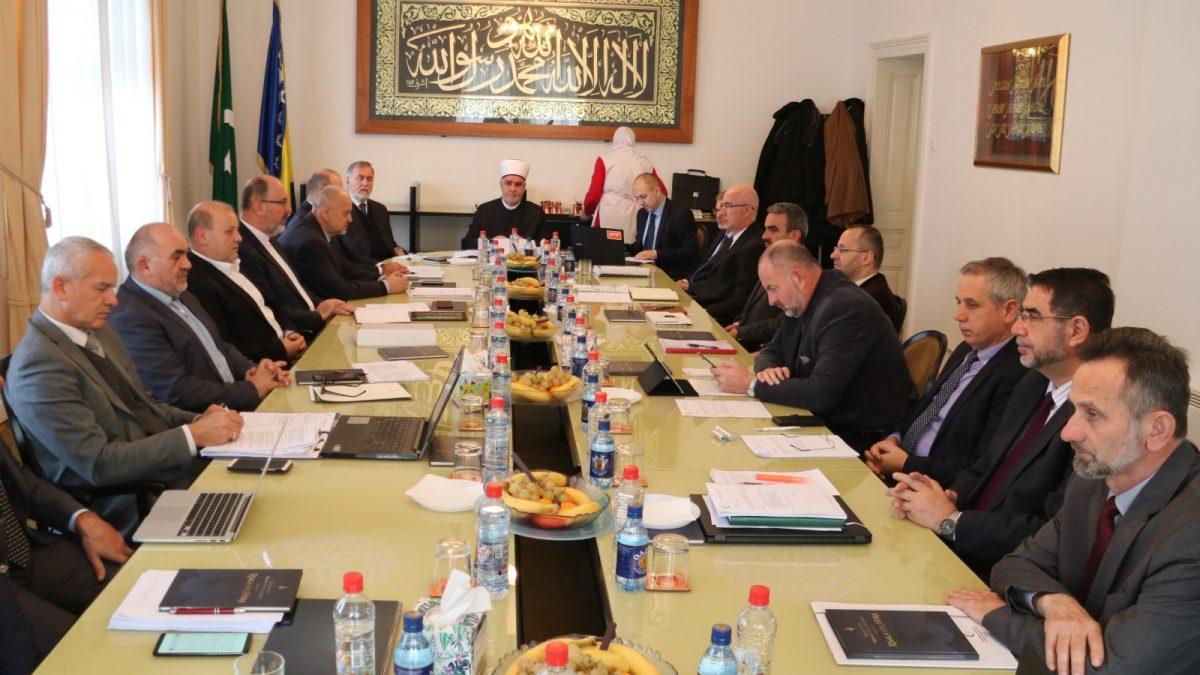 Održana sjednica Vijeća muftija Islamske zajednice u Bosni i Hercegovini