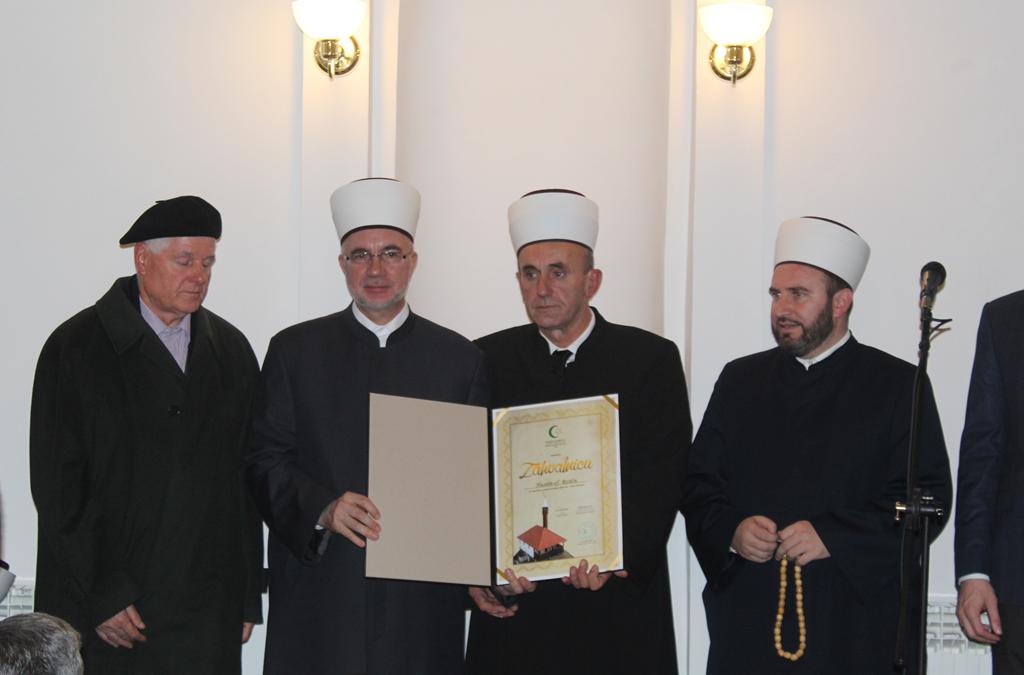 Svečanost povodom završetka rekonstrukcije Brđanske džamije u Tuzli