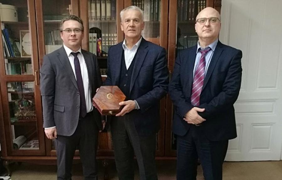 Predstavnici Agencije u posjeti Upravi za vjerske poslove Rijaseta IZ-e u BiH