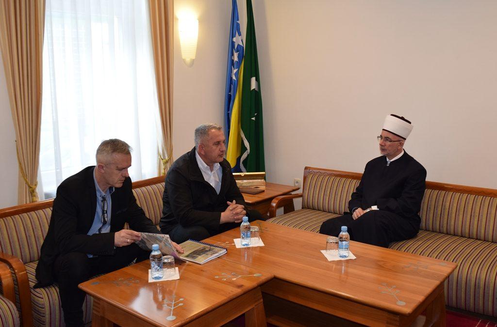 Muftija Fazlović primio najodgovornije ljude MIZ Puračić