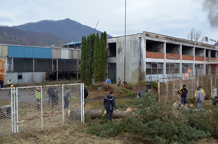 Akcija čišćenja bivše fabrike Feros