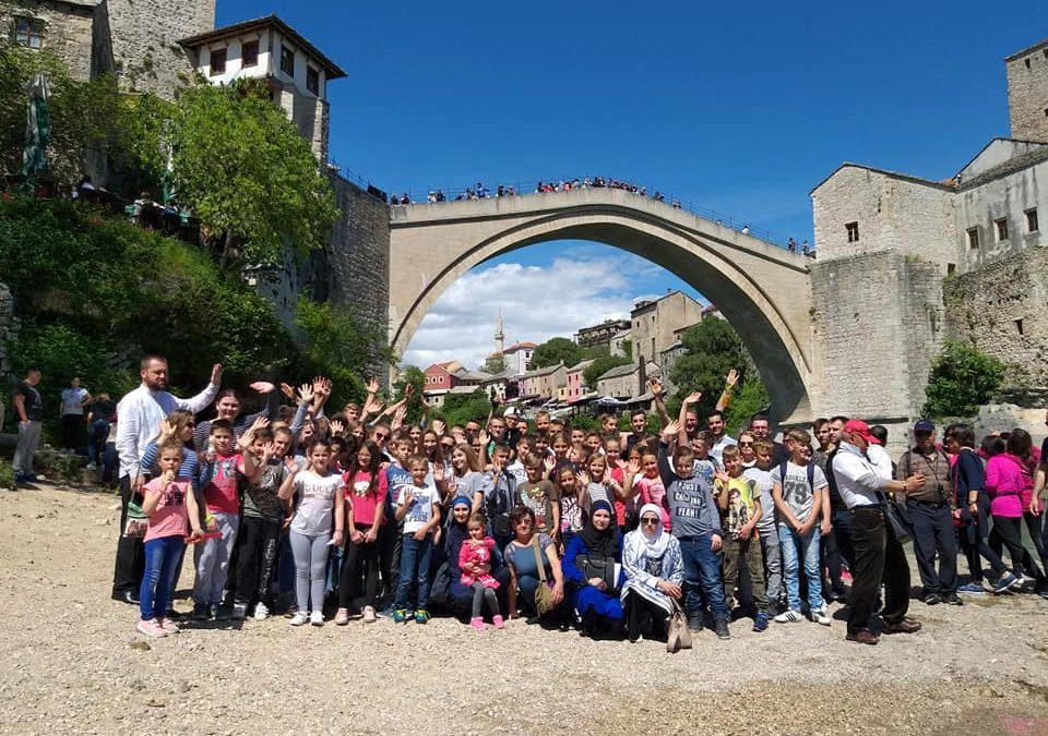 Ekskurzija za mekteblije iz Bosanskog Šamca i Modriče